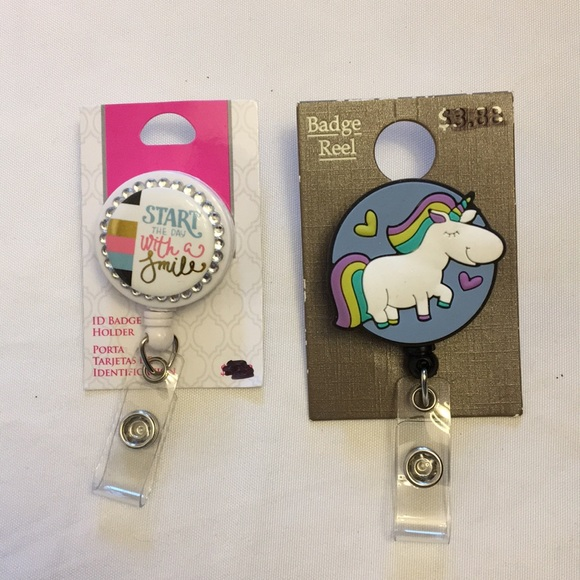 Badge, ID holder bundle.